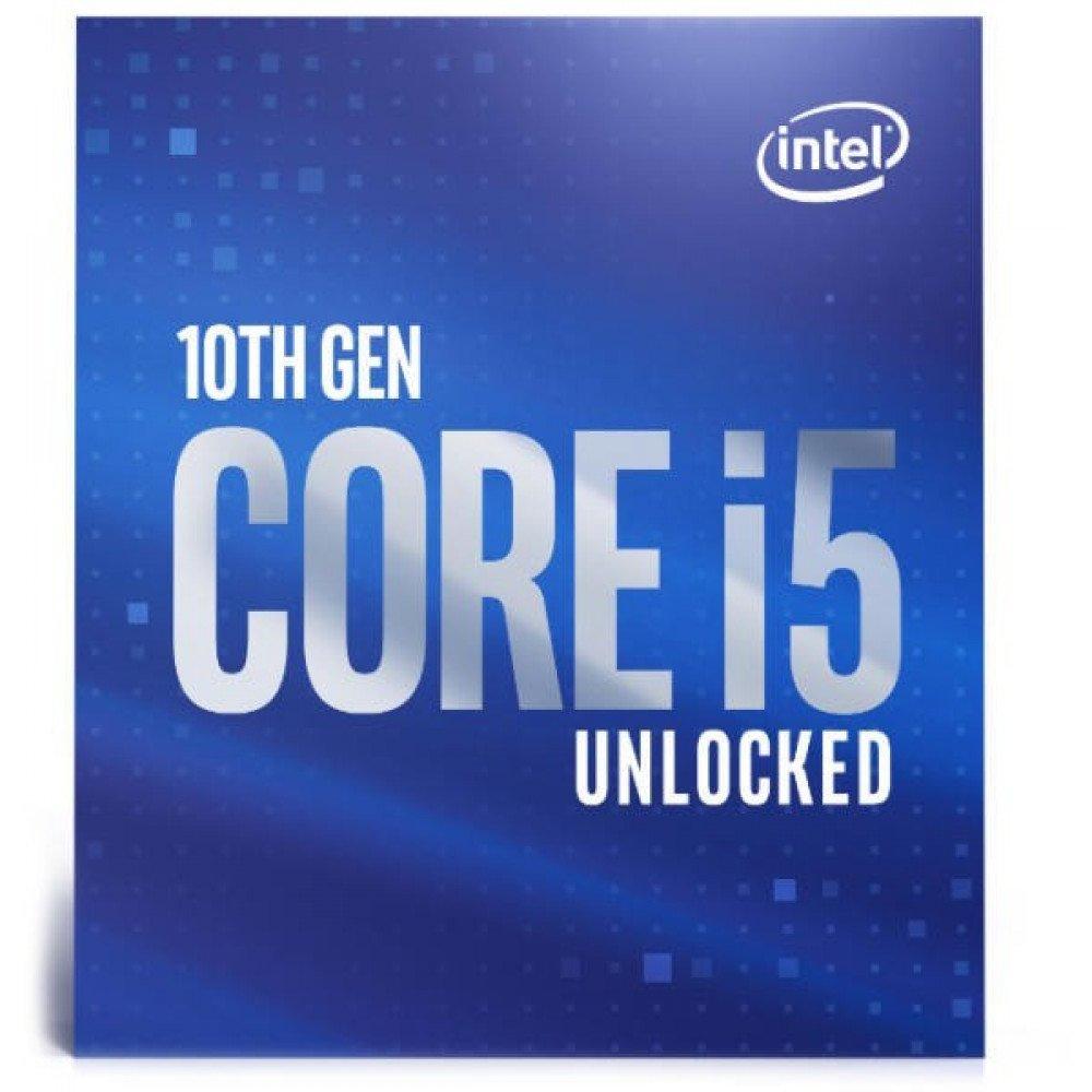 INTEL Core i5-10600K (4.1GHz, 12MB, LGA1200) box