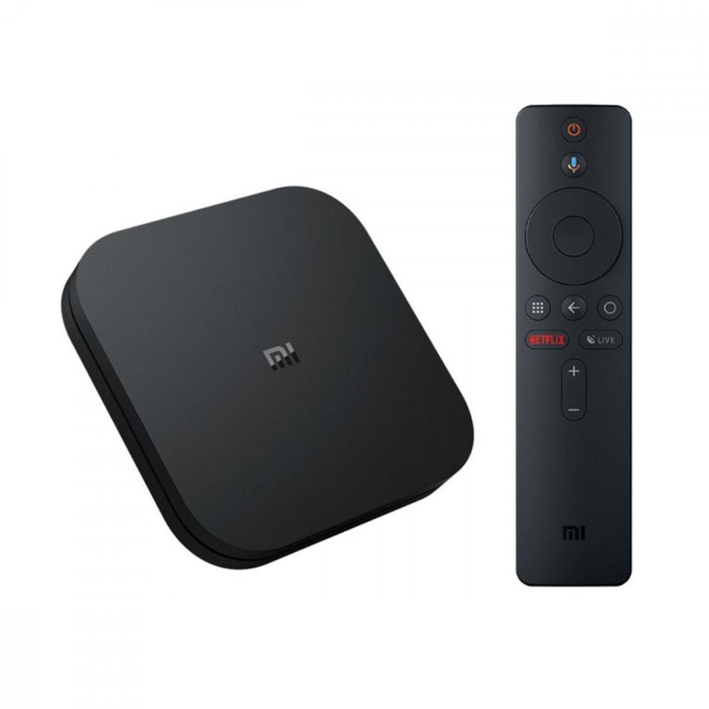 XIAOMI TV SMART плейър  Mi TV Box S EU PFJ4086EU, 2GB DDR3, Andoid, Quad-core Cortex-A53 2.0GHz, Черен