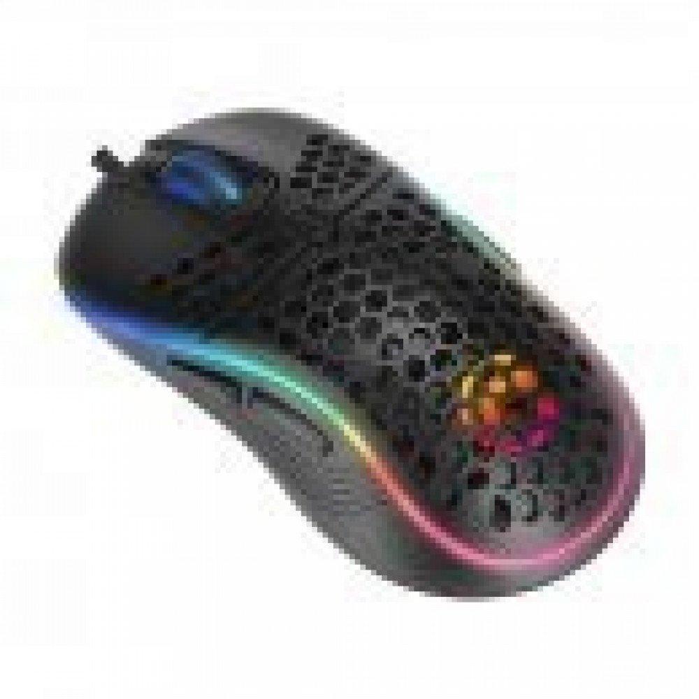 MARVO Геймърска мишка Gaming Mouse M518 - 80g, 4800dpi, 1000Hz, Programmable, Rainbow backlight - MARVO-M518