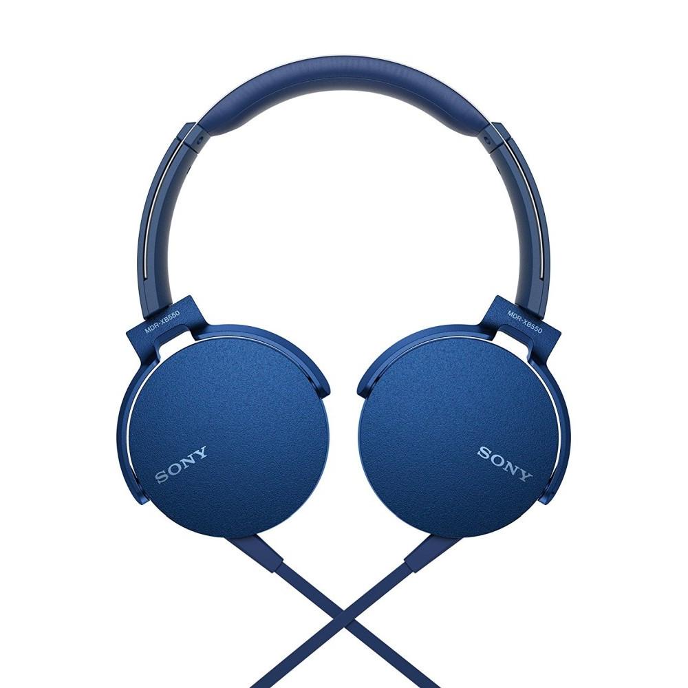 SONY Sony Headset MDR-XB550AP, blue