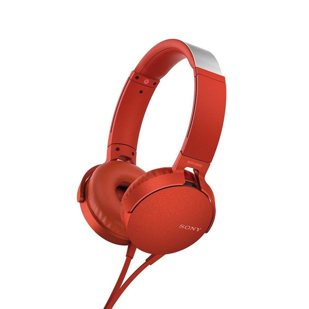 SONY Sony Headset MDR-XB550AP, red