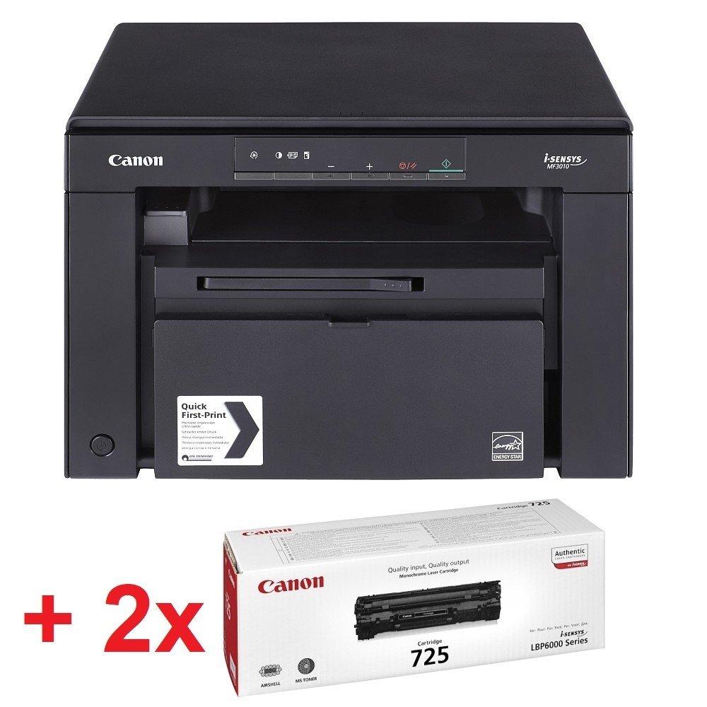 CANON Canon i-SENSYS MF3010 Printer/Scanner/Copier + 2x Canon CRG725 Toner Cartridge