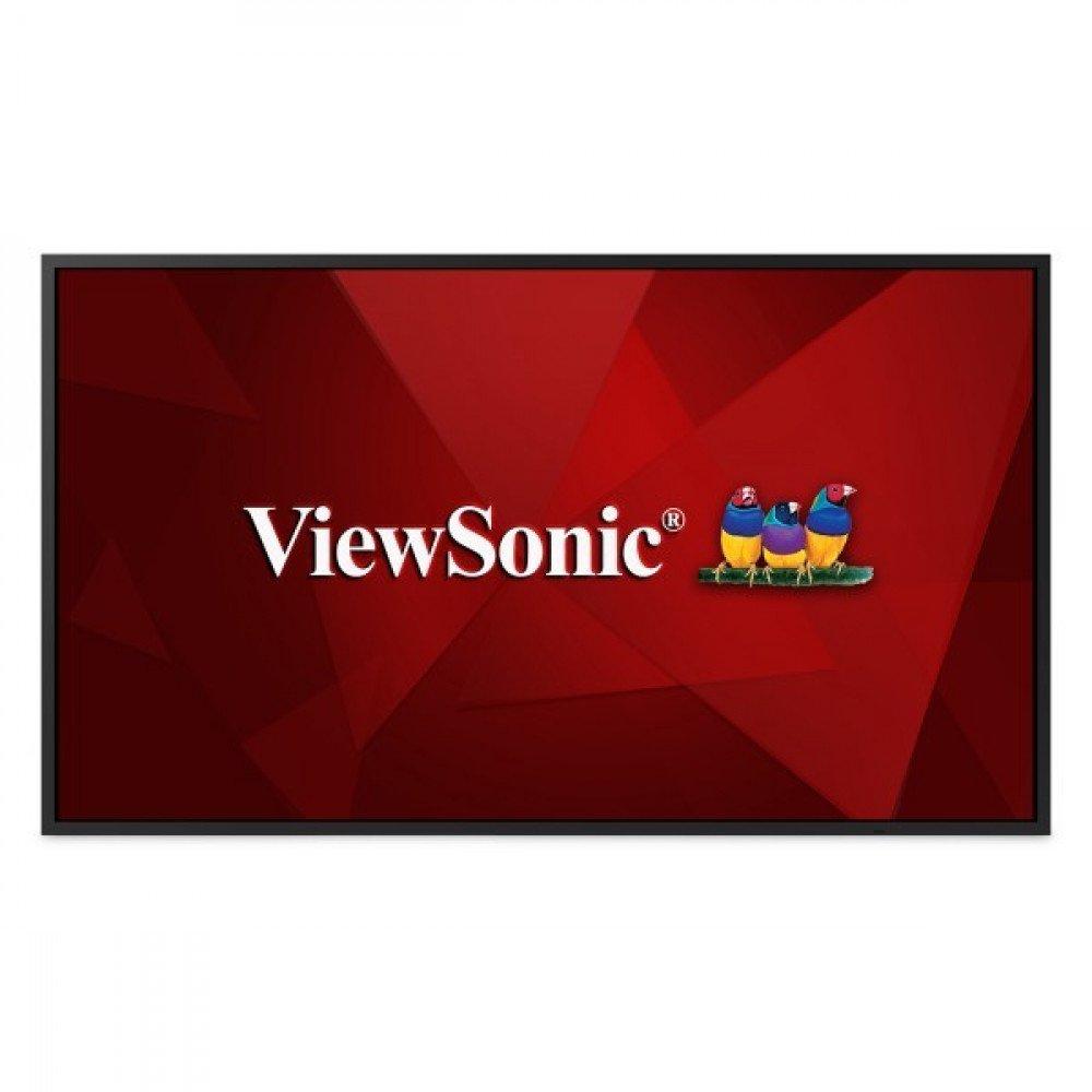 VIEWSONIC Дисплей ViewSonic CDE4320 43 inch LED, 4K 3840x2160, 350cd/m2, 3000:1, 6ms, 2xHDMI, DVI, 2x10W speakers, Slim bezel 1.3cm, 16/7