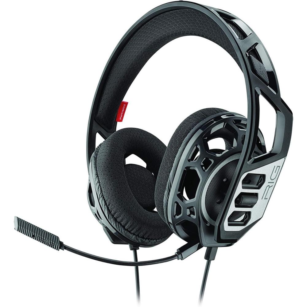 PLANTRONICS Геймърски слушалки  RIG 300HC, Микрофон, Черен/Сребрист