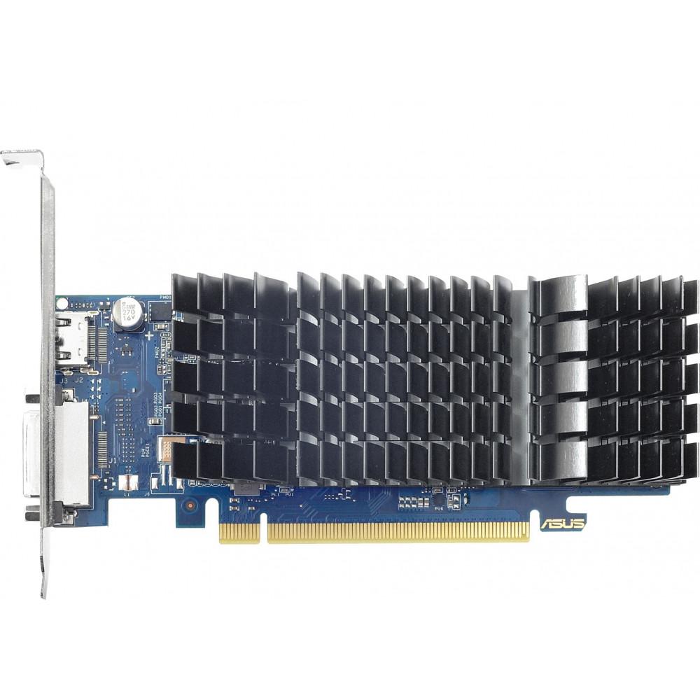 ASUS Видеокарта ASUS GeForce GT 1030 2GB DDR4 low profile